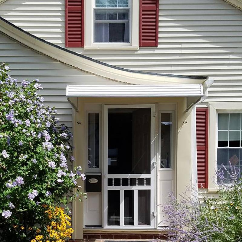 NuImage Series 1500 Aluminum Door Canopy - Aluminum Door ...