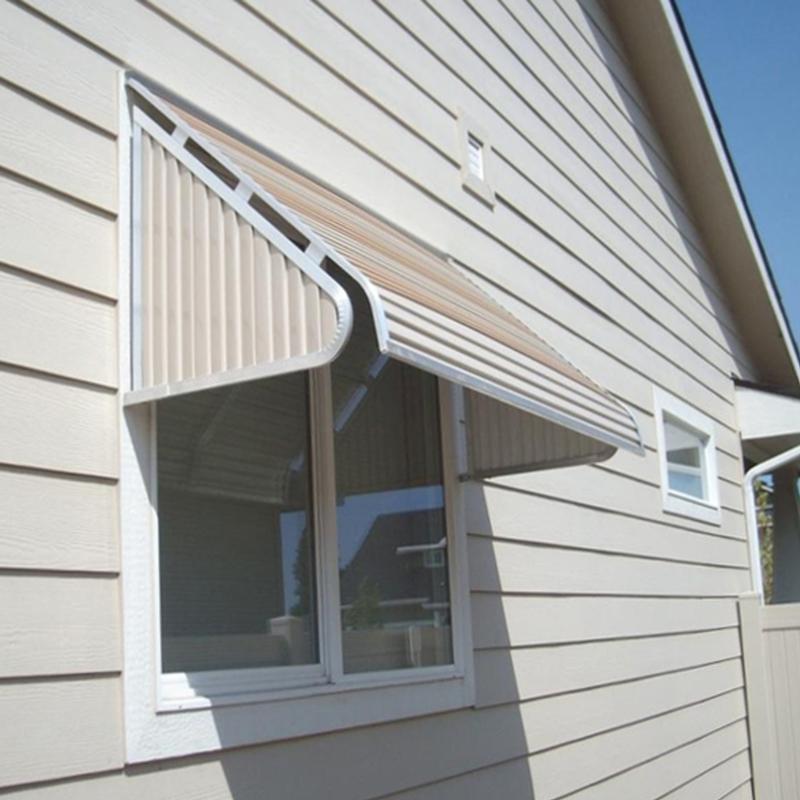 Window And Door Awnings Aluminum : Nuimage series aluminum window awning