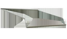 Nuimage Series 1500 Aluminum Door Canopy Aluminum Door